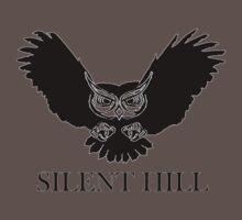 silent hill ghostly haunted magical mystical owl occult ghost by tia knight
