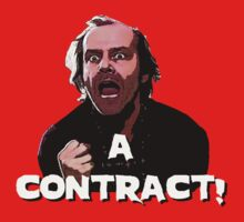 A CONTRACT! The Shining Kids Tee