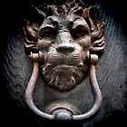 Lionman Knocker by Karen Lewis