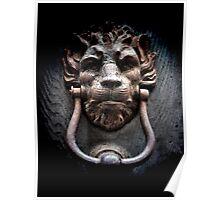 Lionman Knocker Poster