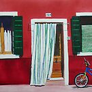 Burano Bicycle by Donna Jill Witty