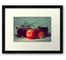 Good Intentions Framed Print