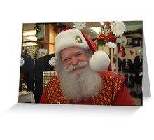 He is real!! Greeting Card