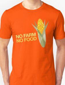 No Farm No Food Unisex T-Shirt