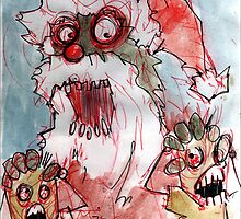 zombie santa by byronrempel