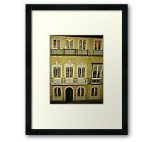 Dollhouse, Malaga, Spain Framed Print