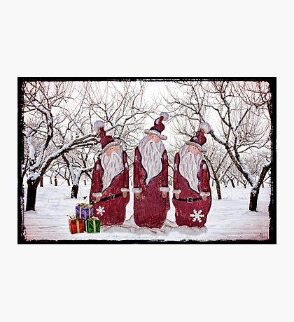 Santa's Little Helpers Photographic Print
