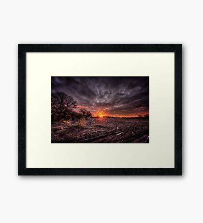 :Middle Earth: Framed Print