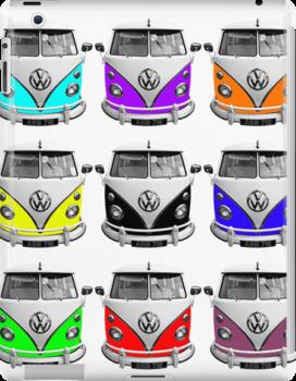 Volks Warhol iPad Wrap by RoystonVasey