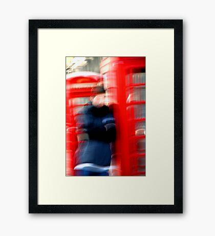 """London Phone Booth"" Framed Print"