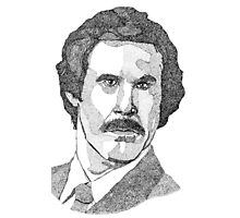 Ron Burgundy (Will Ferrell) Photographic Print