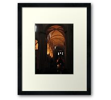 Caen Men's Abbey Framed Print