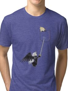 Cloudy Pocket Tri-blend T-Shirt
