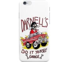 Darnell's do it yourself garage iPhone Case/Skin