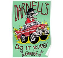 Darnell's do it yourself garage Poster