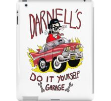Darnell's do it yourself garage iPad Case/Skin