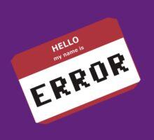 I am ERROR by Collinski