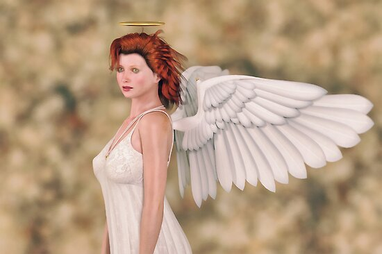 Portrait of an Angel by Liam Liberty