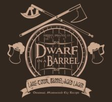 Dwarf in a Barrel by D Zine