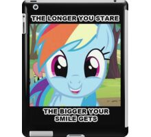 Smiling RainbowDash iPad Case/Skin