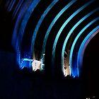 Streaks of blue by KMorral