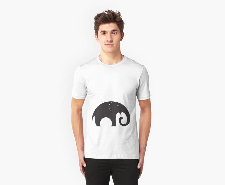 The big fat elephant by nefos