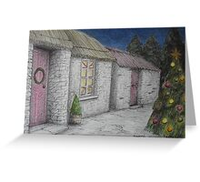 Christmas-y Cottage Greeting Card
