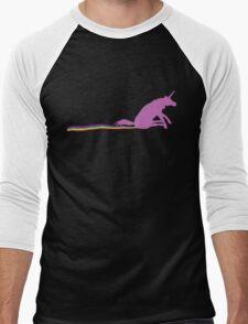 GO SHIT SOME RAINBOWS Men's Baseball ¾ T-Shirt