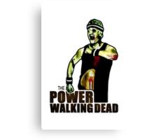 The Power Walking Dead (on White) [ iPad / iPhone / iPod Case | Tshirt | Print ] Canvas Print