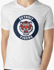 detroit tigers logo 2 Mens V-Neck T-Shirt