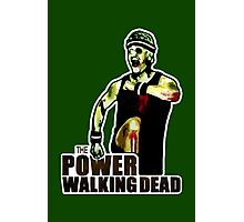 The Power Walking Dead (on Green) [ iPad / iPhone / iPod Case | Tshirt | Print ] Photographic Print