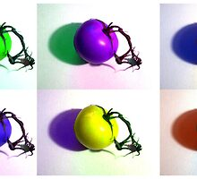 Pop-Art Tomatoes by MSRowe Art and Design