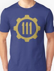 Fallout 4 - Vault 111 logo T-Shirt