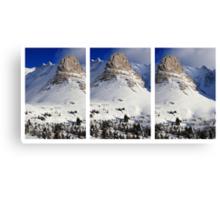 Triple peaks III Canvas Print