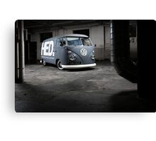 HED Bus Canvas Print
