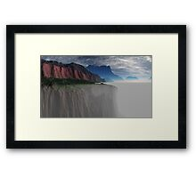 What Lies Beneath? Framed Print