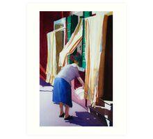 La Nonna Art Print