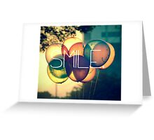 Smile Typography  Greeting Card