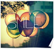 Smile Typography  Poster