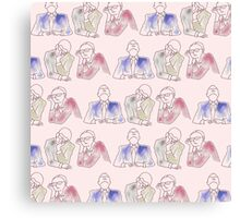 People bored at a meeting Canvas Print