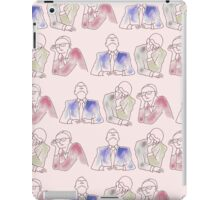 People bored at a meeting iPad Case/Skin