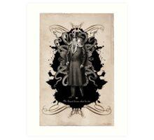 Mr Squid Art Print