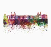 Dijon skyline in watercolor background Kids Tee