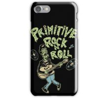 Primitive rock'n roll iPhone Case/Skin