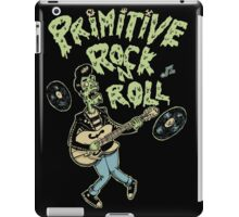 Primitive rock'n roll iPad Case/Skin