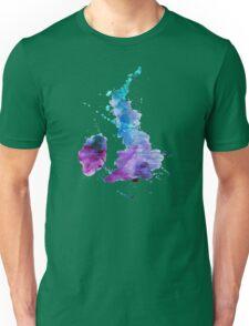 UK map in Watercolours Unisex T-Shirt