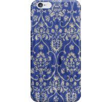 Glowing vintage purple art deco wallpaper iphone iPhone Case/Skin