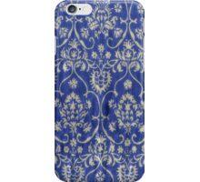 Glowing vintage purple art deco wallpaper iphone iPhone Case/Skin