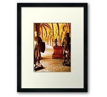 Templar Lair Framed Print