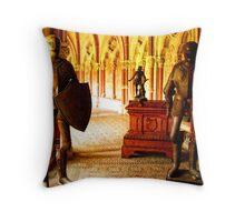 Templar Lair Throw Pillow
